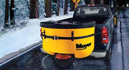 MEYER Snow plow and Spreader