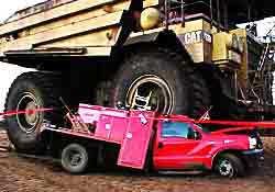 Truck collision Repair - chassis and equipment